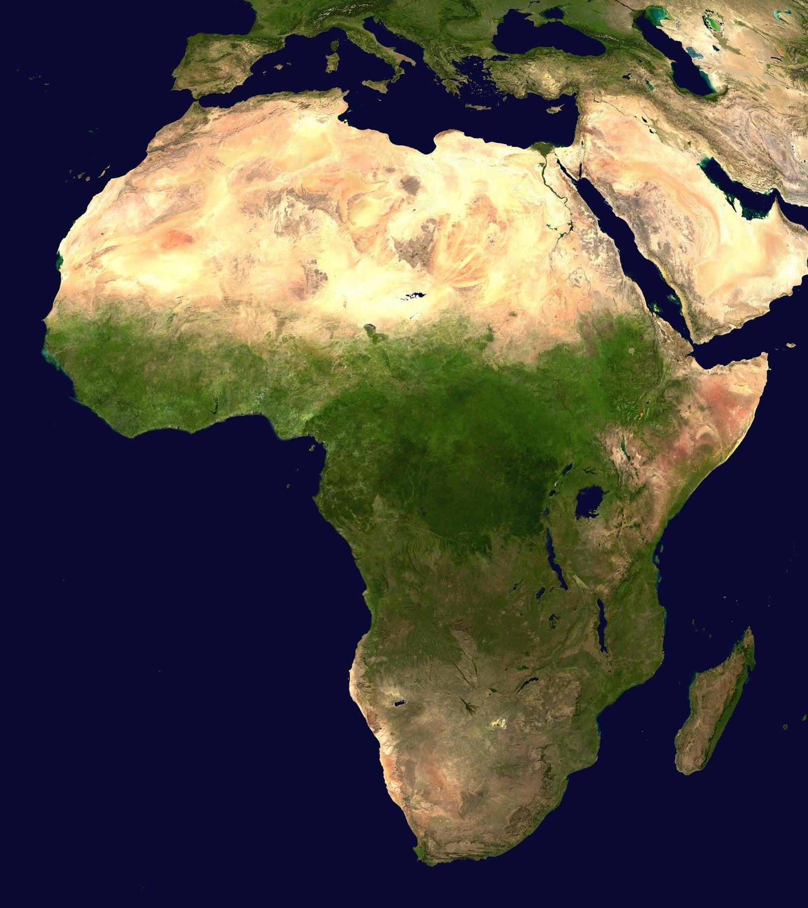 economía de africa