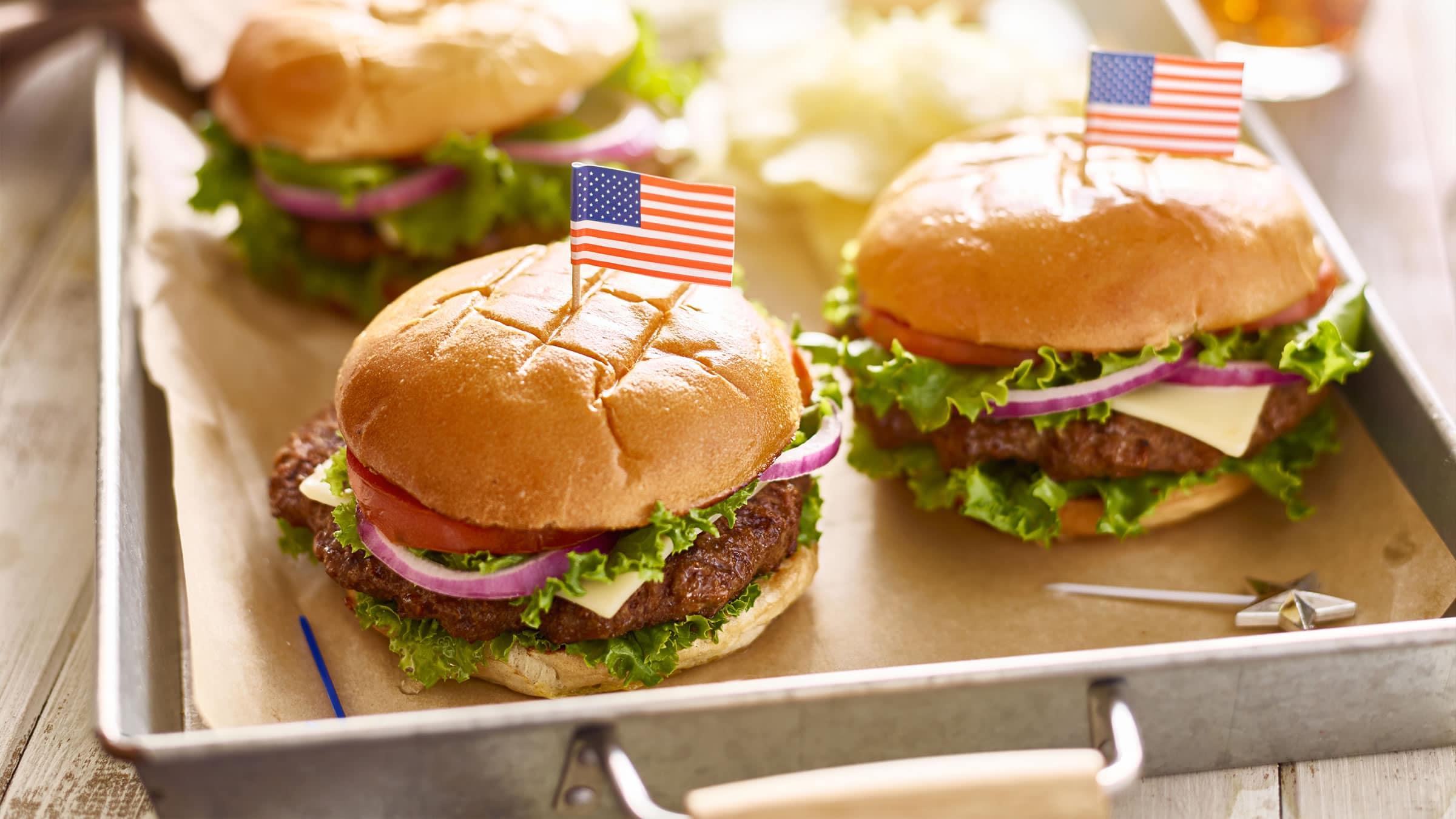 comida tipica de los estados unidos