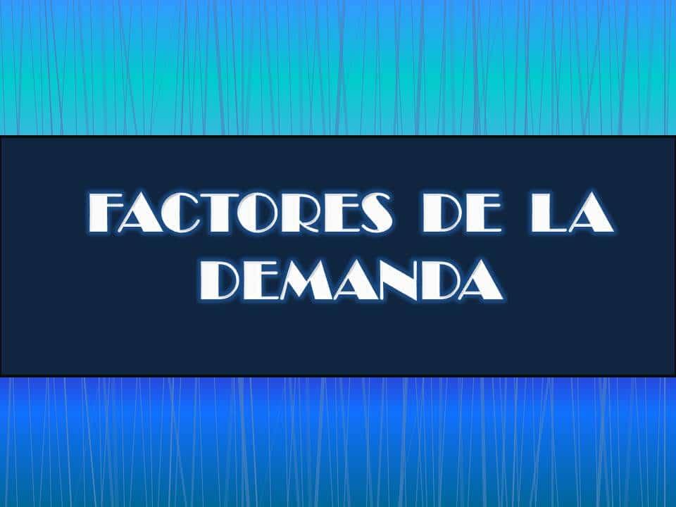 Factores-de-la-Demanda